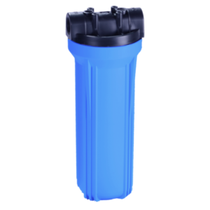 10 '' Water Filter Housing, Blue, Double O-Ring